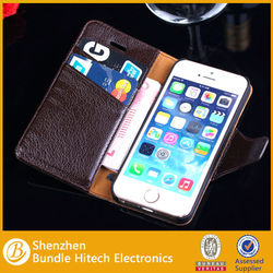 new stylish wallet flip leather case for iphone 5s