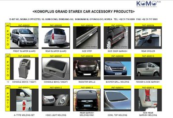 Hyundai Starex Car Accessory