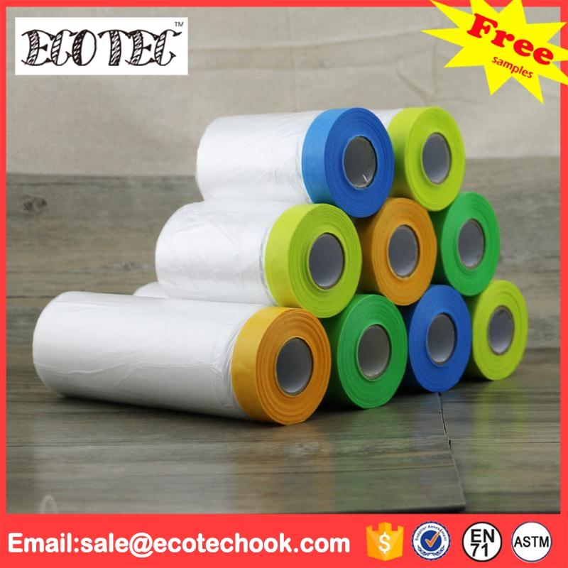 PE plastic masking film for window glass protective