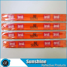 reflective slap wraps reflective armbands snap wraps