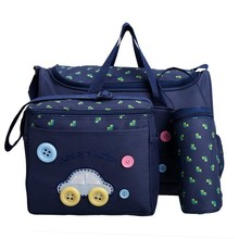Fashionable Fancy Multifunction Cute Oxford Clothing Baby Nappy Changing small Bags handbags Sets SV016671