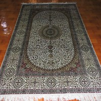 5x8foot Art and graft persian silk Great Britain hand knotted carpet
