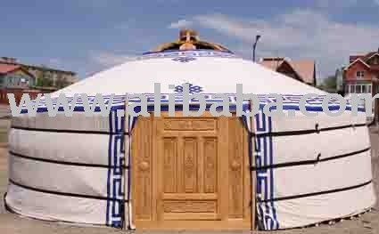 Mongolian Traditional House or Ger or Tent or Yurt