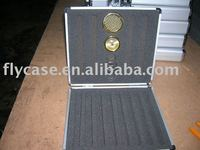 2012 new design best quality USA style Aluminum gary cigar case with sponge and locks