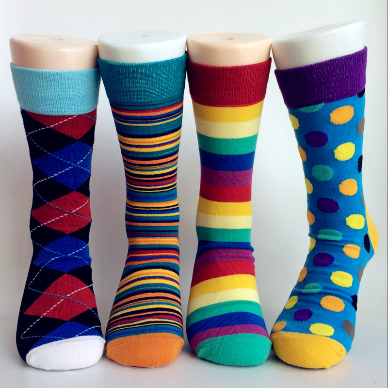 GSM-1339 Donut design socks custom color and material socks for casual