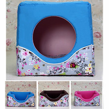 Wholesale washable kennel small folding dual comfortable and warm nest kennel kitten little pet supplies