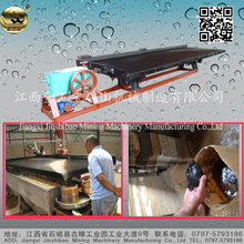 Coarse Fine Slime Ore Deck Shaking Table For Separation