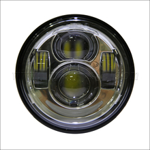 New Daymaker LED Headlamps with ring For Harley Dyna Fat Bob FXDF Model Daymaker LED Lamps 5' Fat Bob Headlight