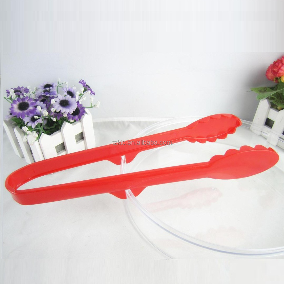 Plastic food serving tong with Hook