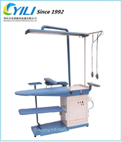 Fabric spot removing machine and ironing table for laundry& industrial