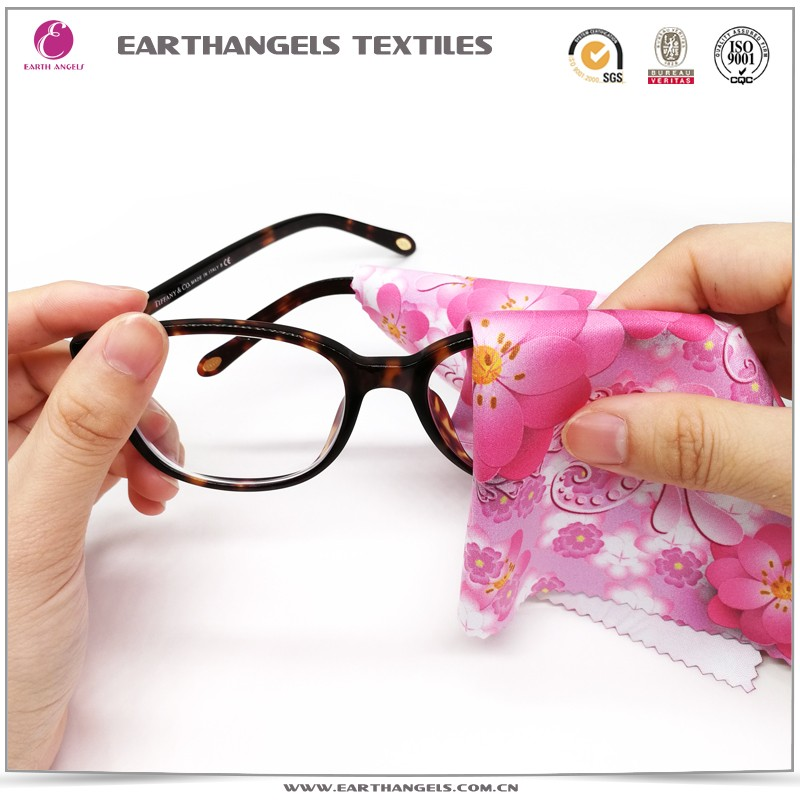 New Style custom microfiber lens/eyeglass/glasses/sunglases cleaning cloth