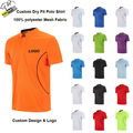 Dry Fit Polyester Sports Polo Shirt Custom Man Apparel Polo t Shirt