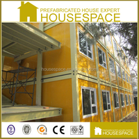 Fast Build Solid Fireproof container hotel for sale