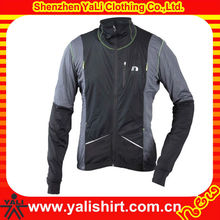 OEM popular comfort dry fit polyester high collar sports men bike riding jacket