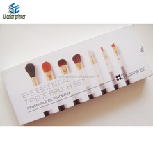 cardboard box makeup brush packaging case