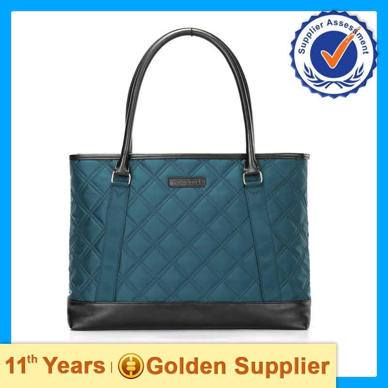 Fashion laptop bag ladies handbag by China supplier