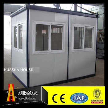 low cost easy assembled color steel sandwich panel Prefab house