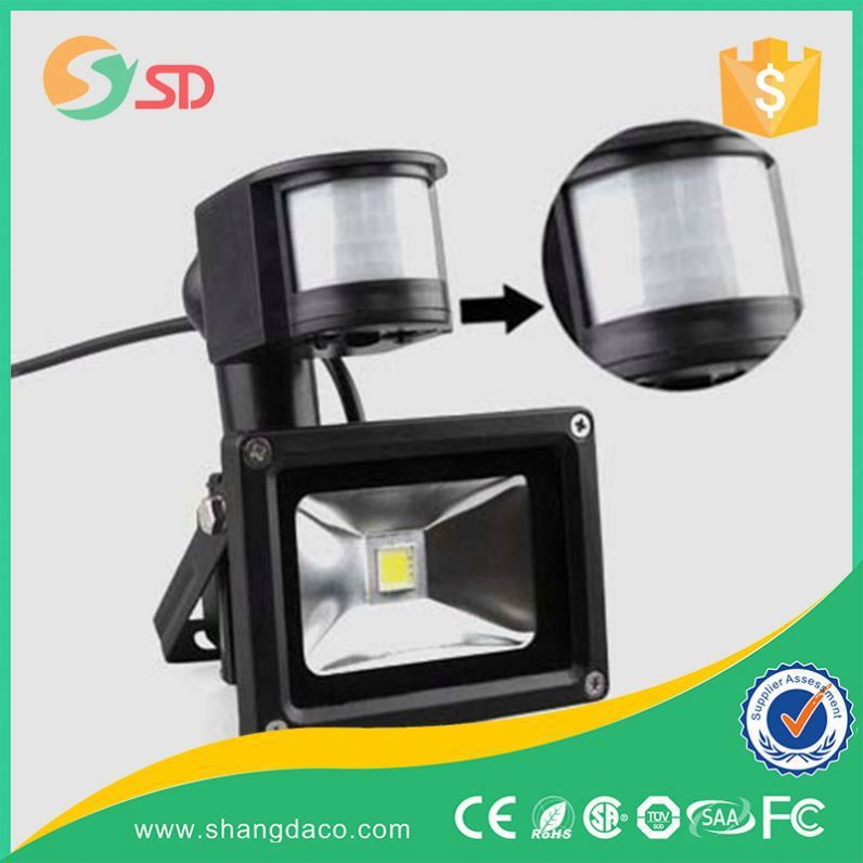 Report Suspicious activities motion senor led flood light, 50w pir sensor led flood light
