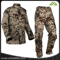 gold supplier military camo one piece hunting suit