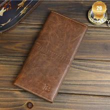 Loostar New Design Wholesale slim Phone Long mens leather wallets