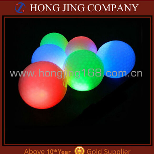 Led golf ball toy