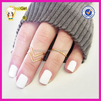 Midi Knuckle Ring Set of 3 Midi Stacking Dainty Rings Gold Rings Without Stones
