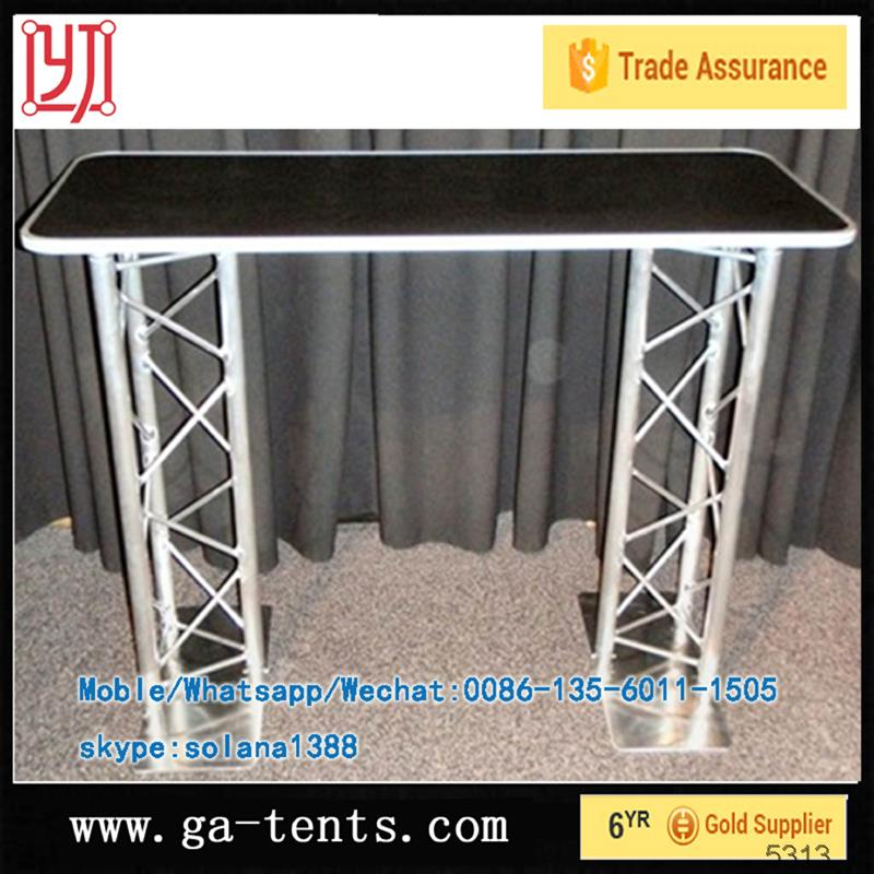 Aluminium square truss for performance equipment,design for stadium truss