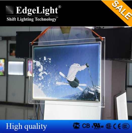 Single side Crystal Light Box for <strong>advertising</strong> and exhibition Waterproof outside ultra thin led display with insert poster