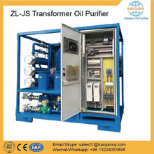 Chinese supplier Transformer Oil Reclaimed Purifier Equipment
