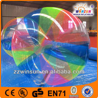Pop commercial grade inflatable water ball