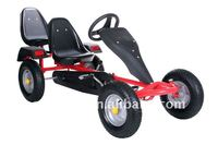 sports two seat pedal go kart,kids and adult sandbeach cart F160AB