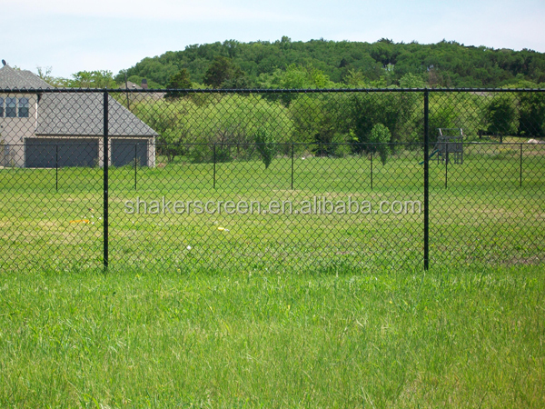 PVC coated fencing used chain link fence for sale