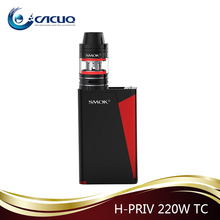 New issued Smok H-PRIV 220W TC mod Micro TFV4 2.5ml with Red Triangle design