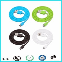 OEM logo environmental fast charging micro usb data cable TPE