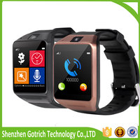 cheap gifts bluetooth smart watch cheap price bluetooth watch wrist mobile GV08 smartwatch phone heart rate monitor