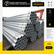 ASTM A53 GR B hot dipped galvanized carbon bs heavy grade steel petroleum pipe structure pipes