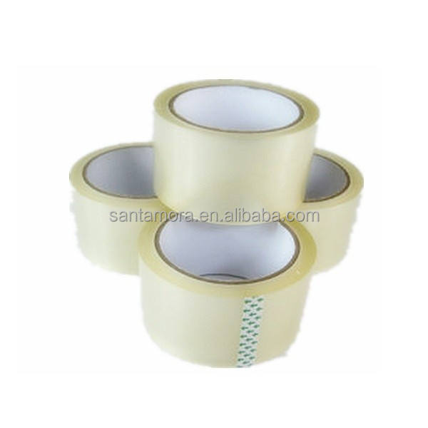 6 Rolls Flat Shrink Super Clear BOPP Packaging Tape with Label