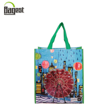 Professional Factory Laminated Plastic Shopping Bag PP Woven Bag