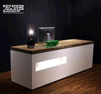 2016 Modern beauty salon reception desk/office front desk counter/hotel reception counter design