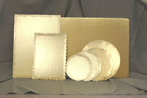 corrugated cake board