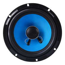 6 inch 2 ohm small blue powered best sound music coaxial speaker unit 6.5''