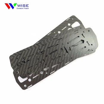 Custom CNC cutting carbon fiber sheets/plate/board/panel with cnc cutting service