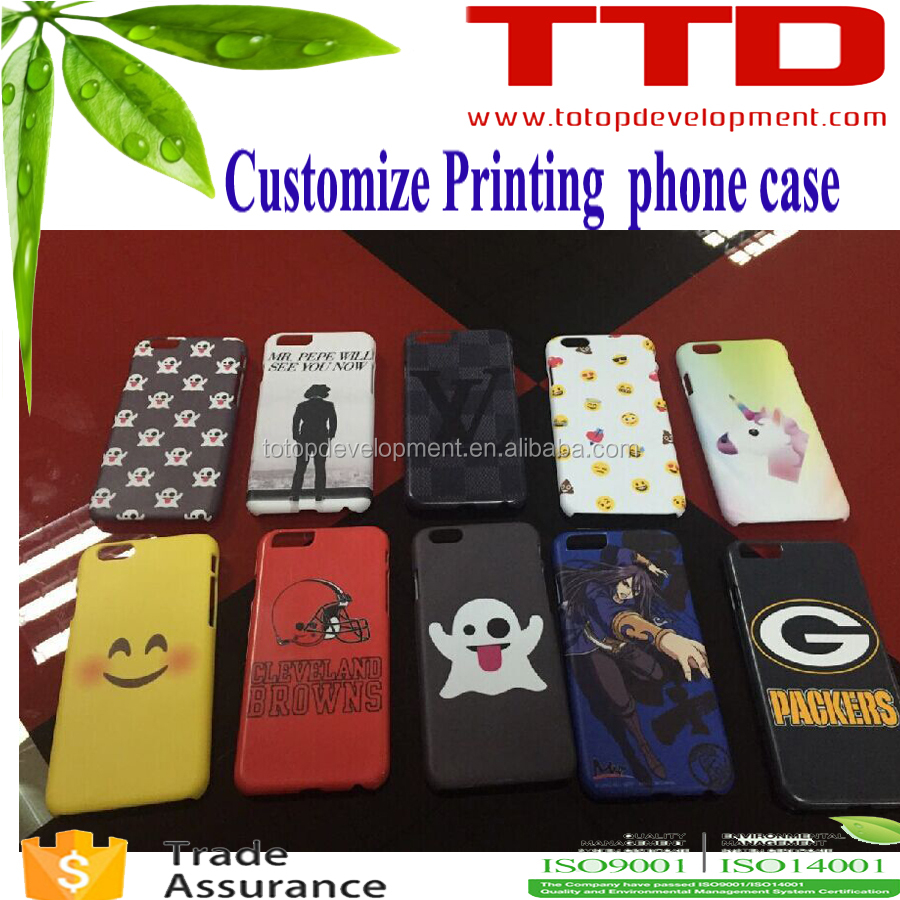 customize printing factory ,3D sublimation leather flip mobile phone case , pu leather case for iphone 6 cover