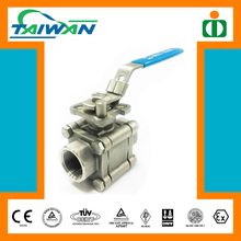 Taiwan High quality brass ball cock valve, 1 inch stainless steel ball valve, ball valve seat ring