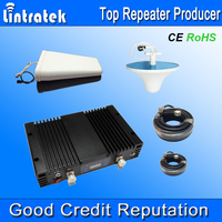 lintratek newest 3G Mobile Phone Signal Booster 2watt 80dB wcdma repeater, EU 3g Repeaters