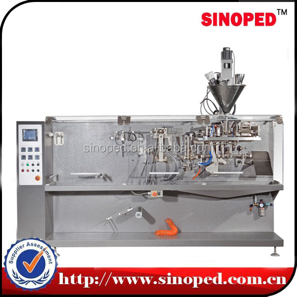 HF 130 PLC controlled plastic bag/pouch tomato paste packing machine