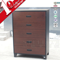 STEELITE Hot Sale Antique Design Imitation Wooden Chest Of 5 Drawers