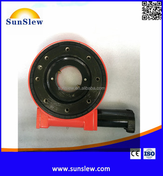 slewing bearing ring worm drive for working platform and crane