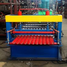 Best price box corrugated galvanized roof sheet panel tile roll forming marking machine