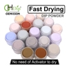 Factory Wholesale 2000 colors Acrylic Nail Dipping Powder System 2oz/jar custom your logo